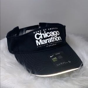 NWTs NIKE • Tailwind Black Visor Running Marathon
